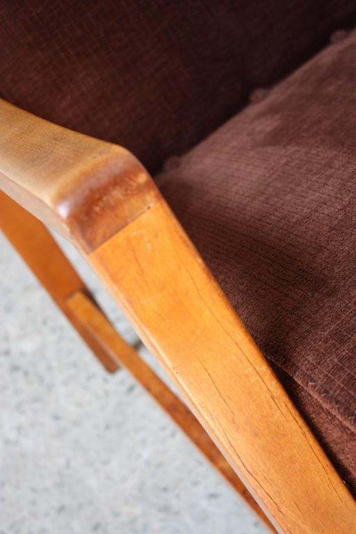 Mid-20th Century Jens Risom Armchair for Knoll For Sale