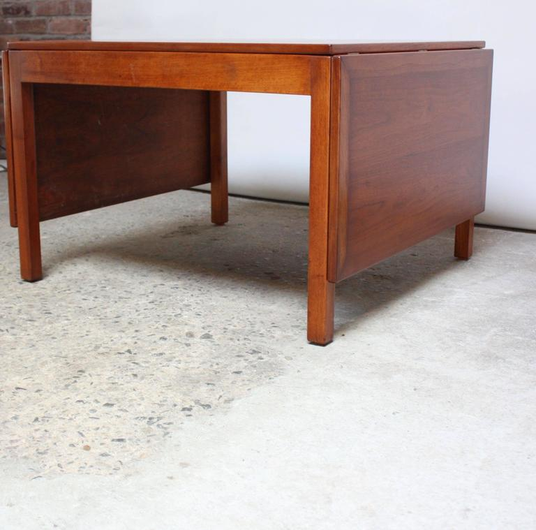 Extendable coffee table by b rge mogensen for fredericia for sale at 1stdibs - Telescopic coffee table ...