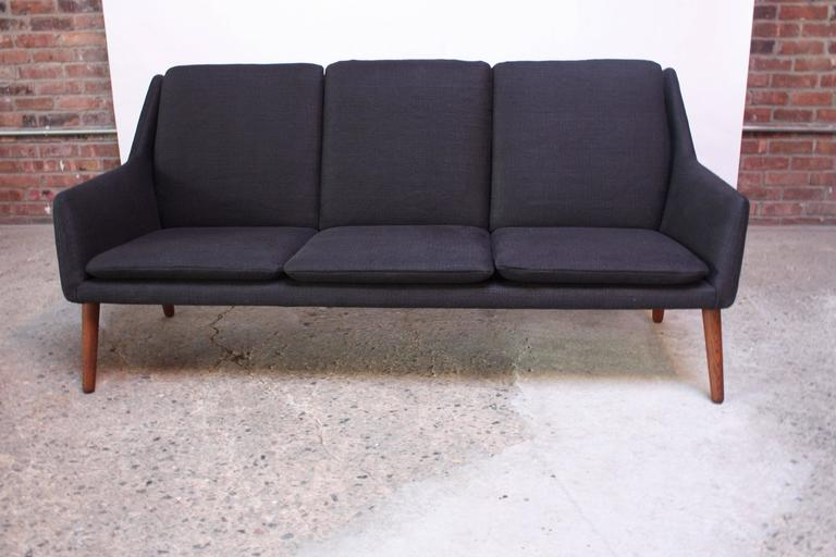 Danish Modern Sofa by Erik Ostermann and H. Høpner Petersen 3