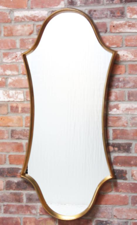 Gilt Cartouche Mirror by Labarge 2