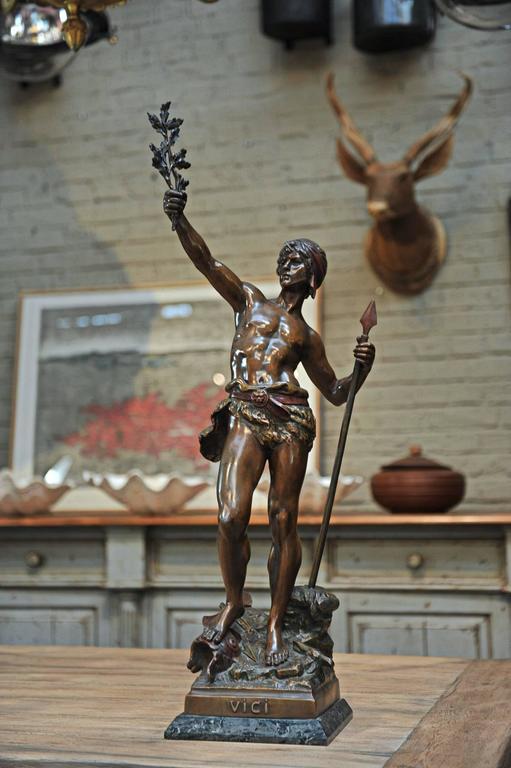 19th Century Man Statue