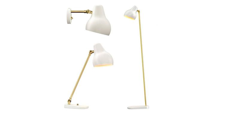 Danish Vilhelm Lauritzen 'Radiohus' Sconces for Louis Poulsen For Sale