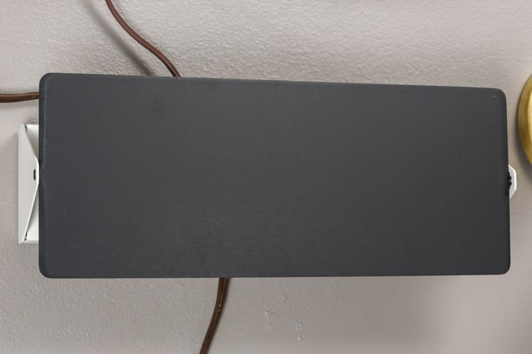 Mid-Century Modern Large Charlotte Perriand 'CP1' Wall Lights For Sale