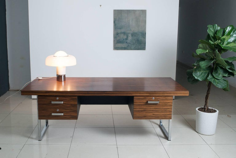 Mid-20th Century 1960s Rosewood Executive Desk by Gordon Russell Ltd For Sale