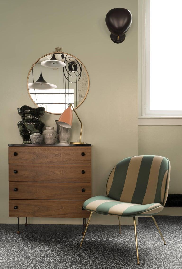 Greta Magnusson Grossman 'Grasshopper' Table Lamp in Light Gray For Sale 2
