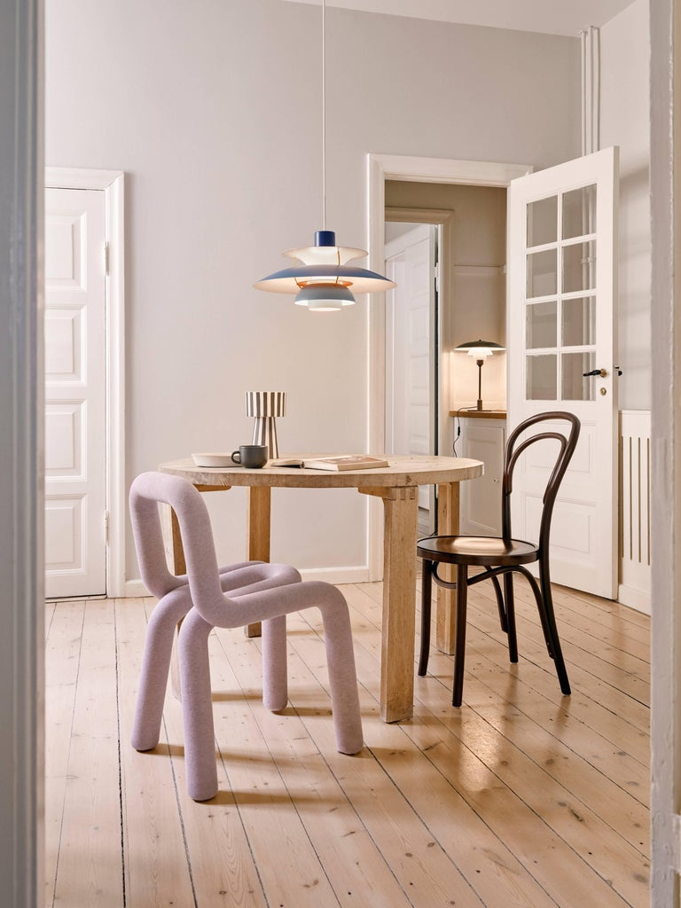 Poul Henningsen PH 5 Pendant for Louis Poulsen in Modern White For Sale 6