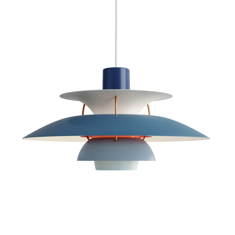 Poul Henningsen PH 5 Pendant for Louis Poulsen in Green For Sale 5