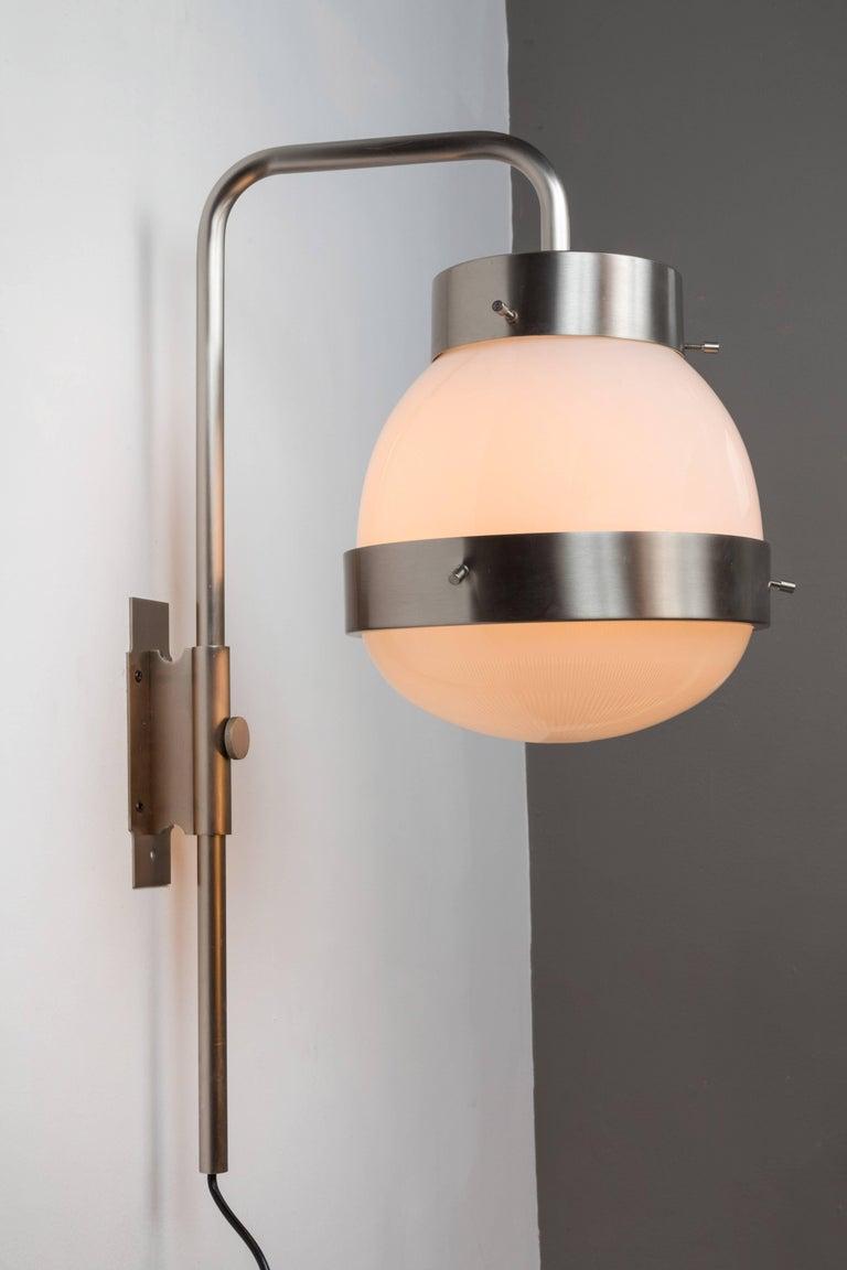 Mid-Century Modern 1960s Sergio Mazza 'Delta' Wall Lights for Artemide For Sale