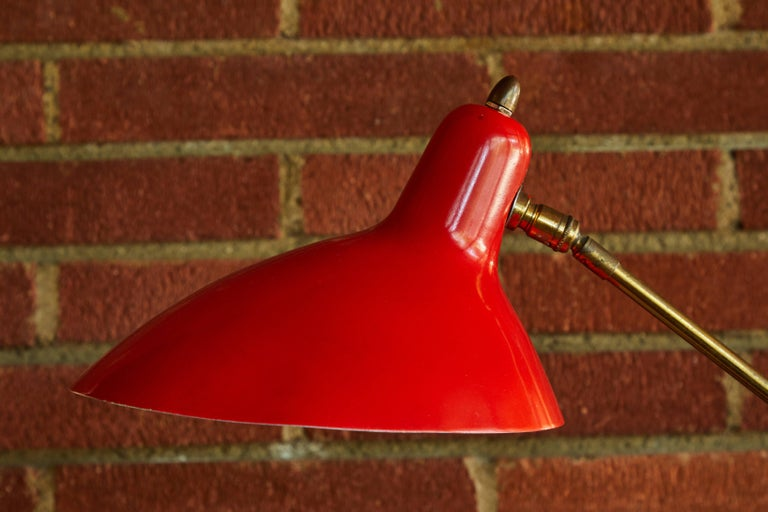 Mid-Century Modern 1950s Boris Lacroix Table Lamp For Sale