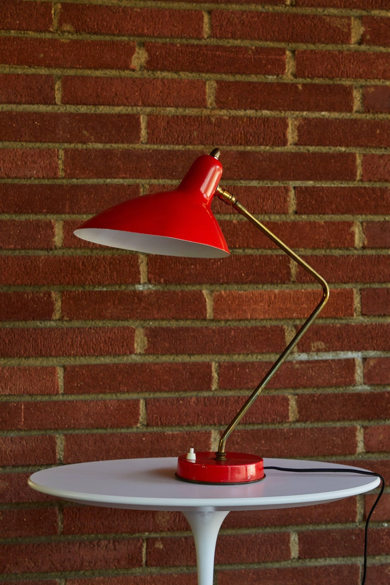 1950s Boris Lacroix Table Lamp For Sale 3