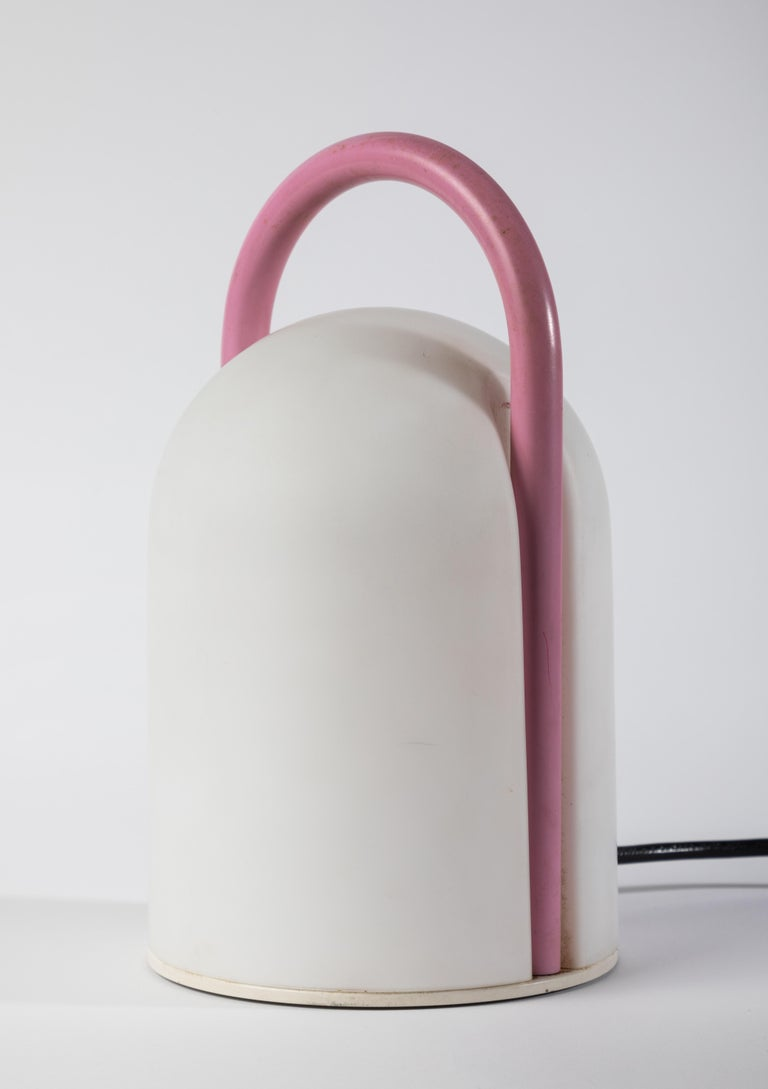 1980s Romolo Lanciani 'Tender' Table Lamp for Tronconi In Good Condition For Sale In Glendale, CA