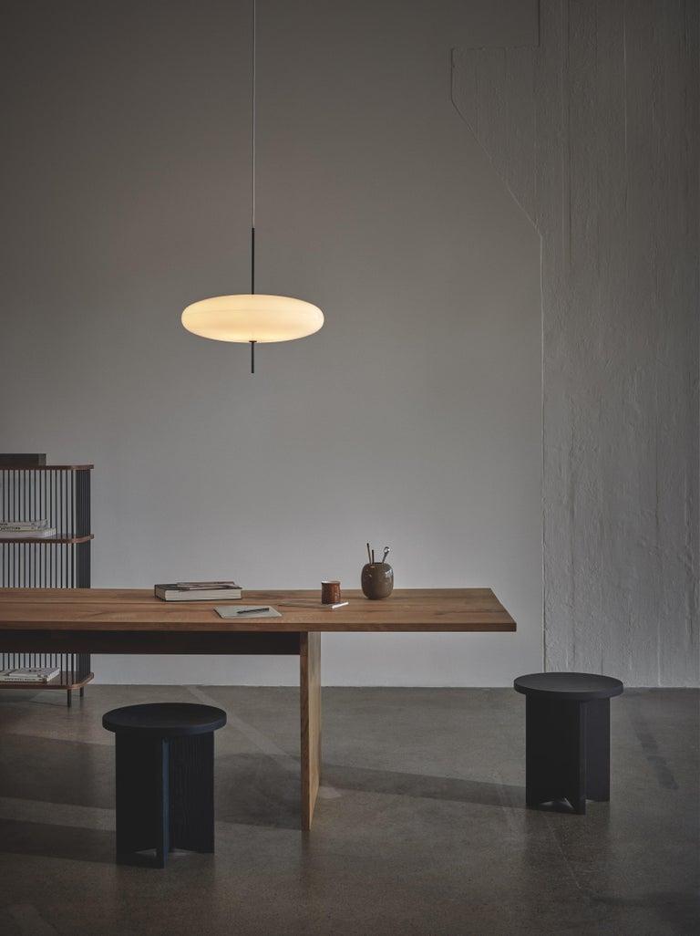 Aluminum Gino Sarfatti Model No. 2065 Ceiling Light For Sale