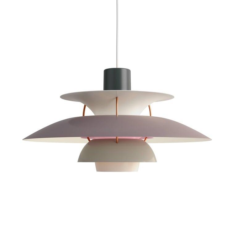 Poul Henningsen PH 5 Copper Pendant for Louis Poulsen For Sale 5