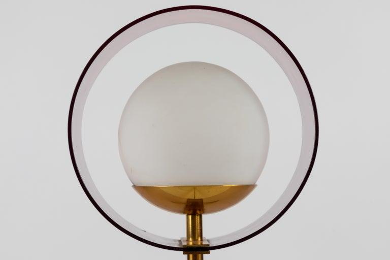 1950s Stilux Milano 'Saturno' Table Lamp For Sale 2
