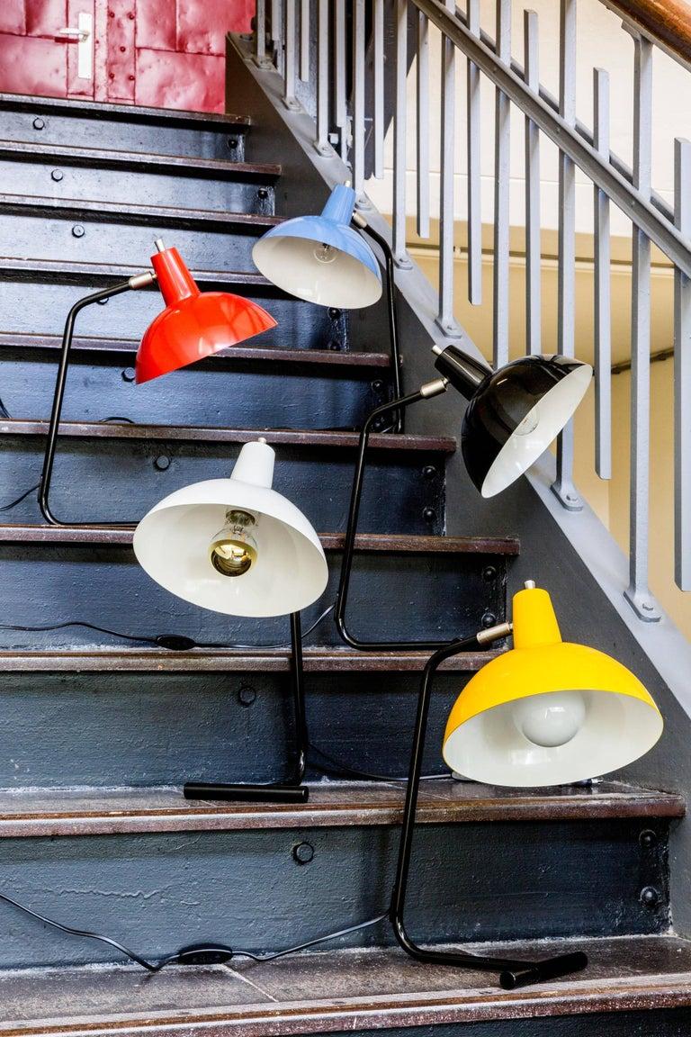 Dutch J.J.M. Hoogervorst Yellow 'Director' Table Light for Anvia