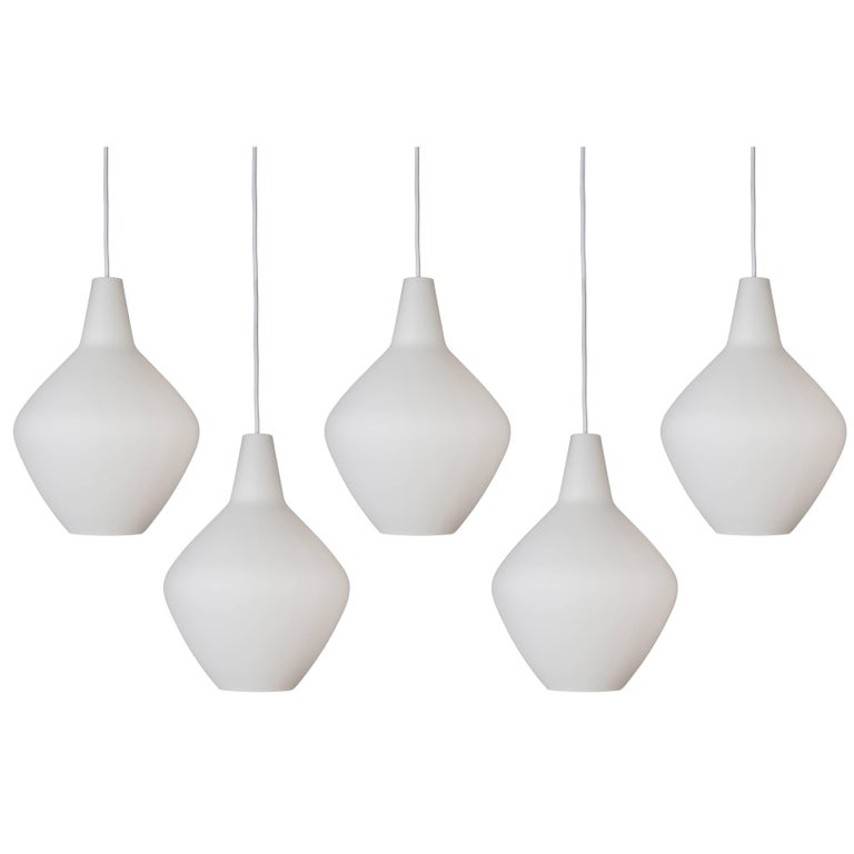 Lisa Johansson-Pape Glass 'Onion' Pendants for Innolux