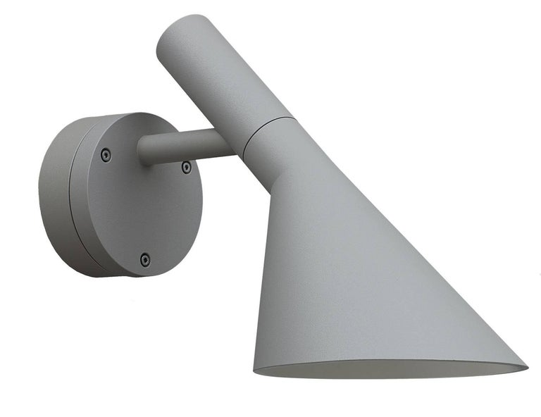 Scandinavian Modern Arne Jacobsen AJ 50 Outdoor Wall Light for Louis Poulsen For Sale
