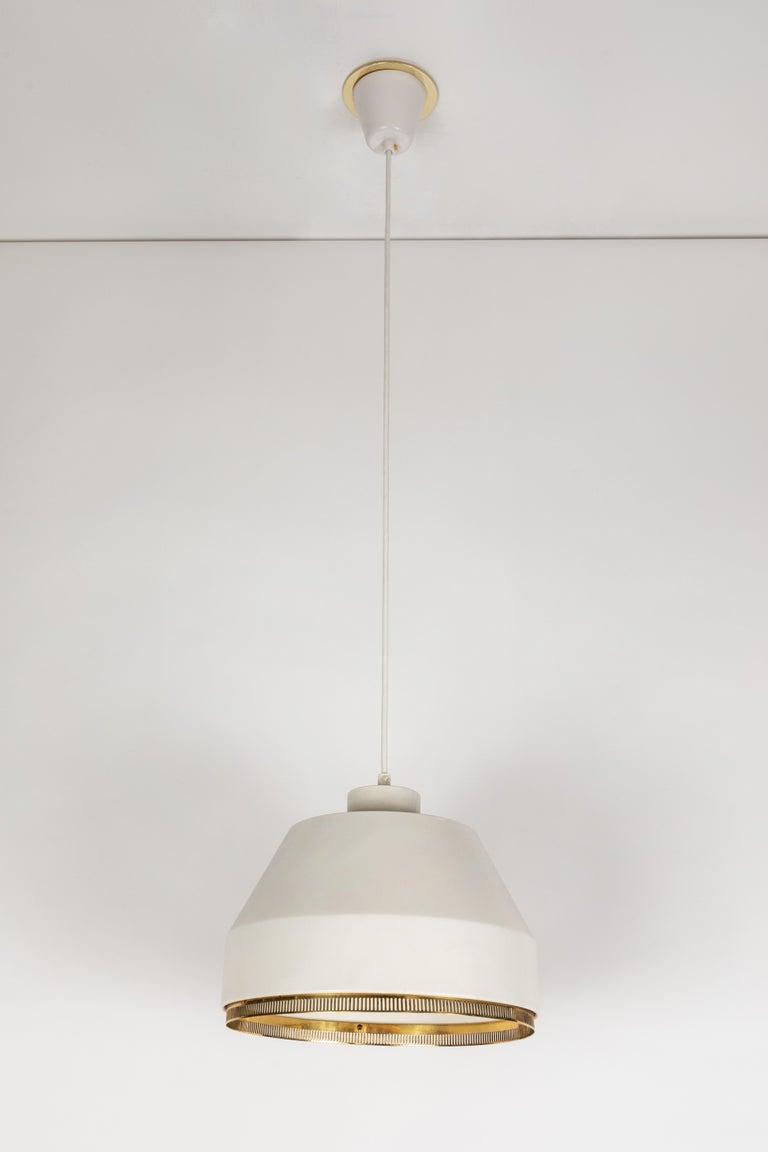 Aino Aalto 'Ama 500' Pendant Light, 1940s In Good Condition For Sale In Glendale, CA