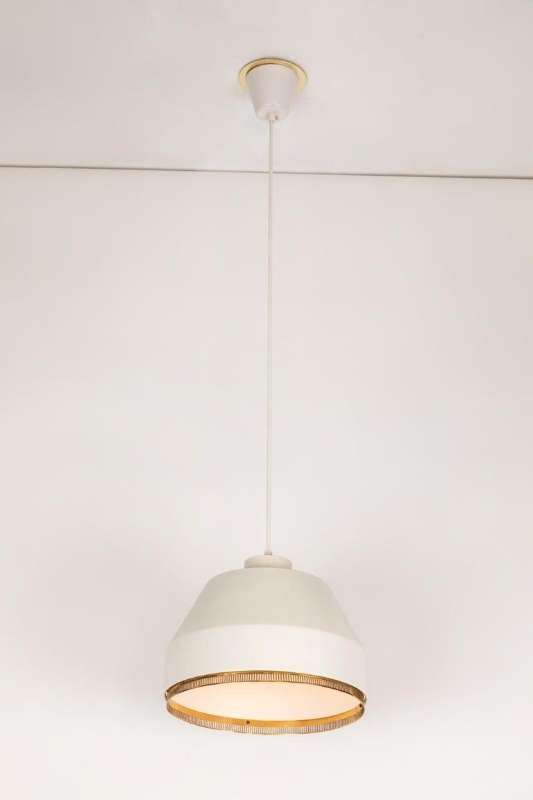 Finnish Aino Aalto 'Ama 500' Pendant Light, 1940s For Sale