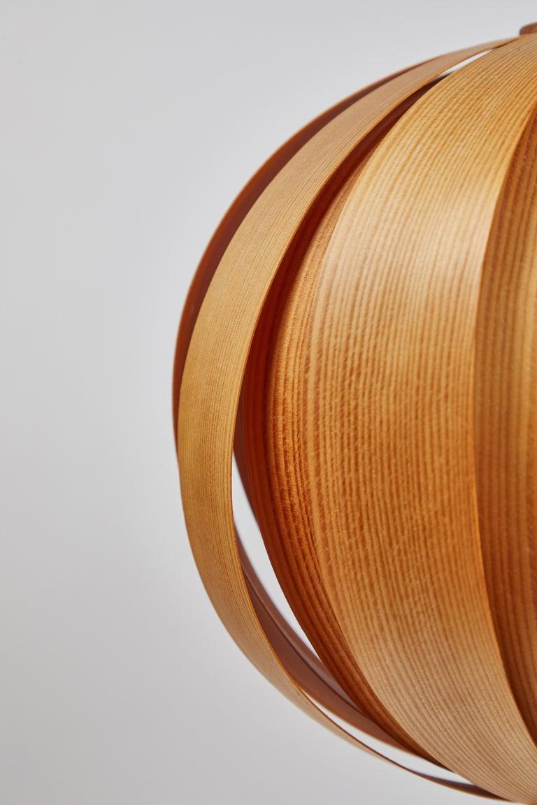1960s Hans-Agne Jakobsson Wood Table Lamp for AB Ellysett For Sale 2