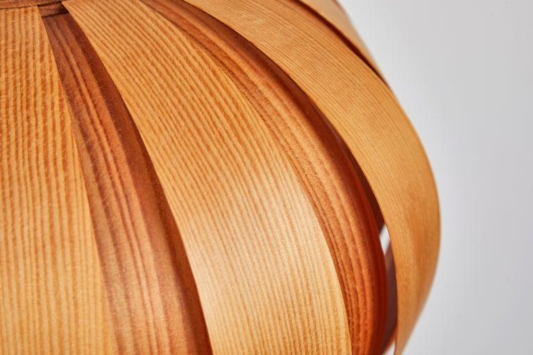 1960s Hans-Agne Jakobsson Wood Table Lamp for AB Ellysett For Sale 3