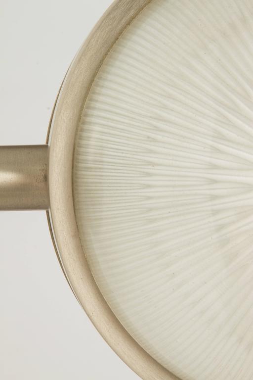 Glass 1960s Sergio Mazza 'Gamma' Sconces for Artemide For Sale