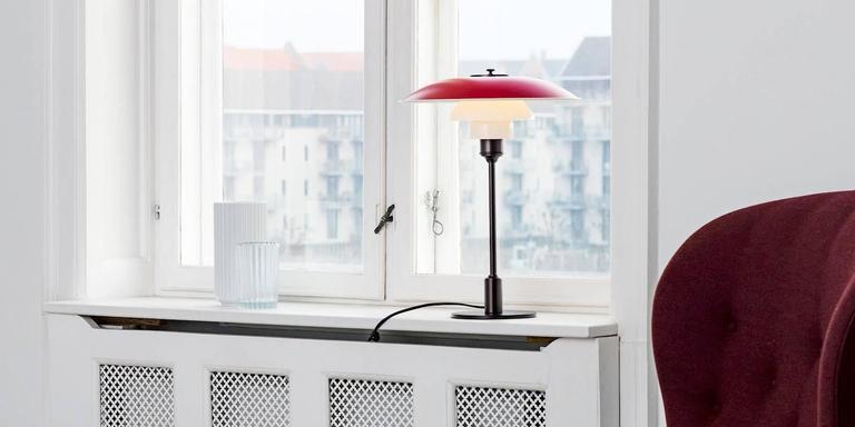 Metal Poul Henningsen PH 3½-2½ Table Lamps for Louis Poulsen For Sale