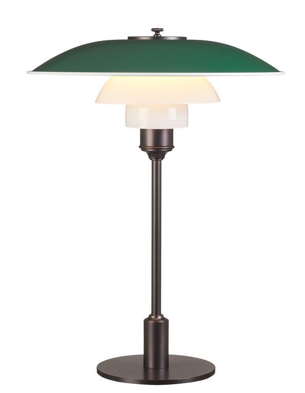 Danish Poul Henningsen PH 3½-2½ Table Lamps for Louis Poulsen For Sale