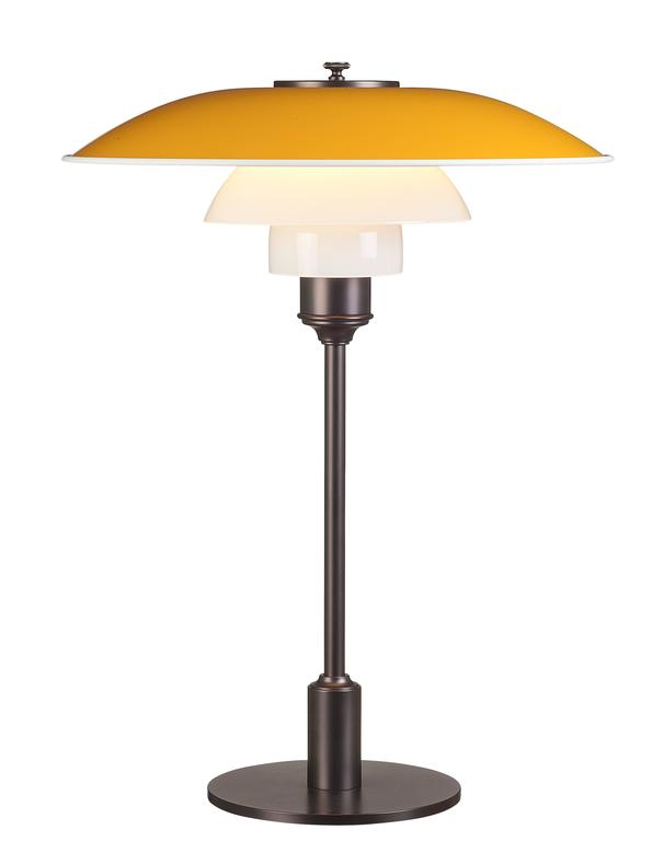 Painted Poul Henningsen PH 3½-2½ Table Lamps for Louis Poulsen For Sale
