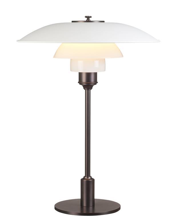 Scandinavian Modern Poul Henningsen PH 3½-2½ Table Lamps for Louis Poulsen For Sale
