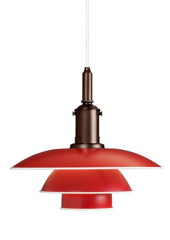 Danish Poul Henningsen PH 3½-3 Pendants for Louis Poulsen For Sale
