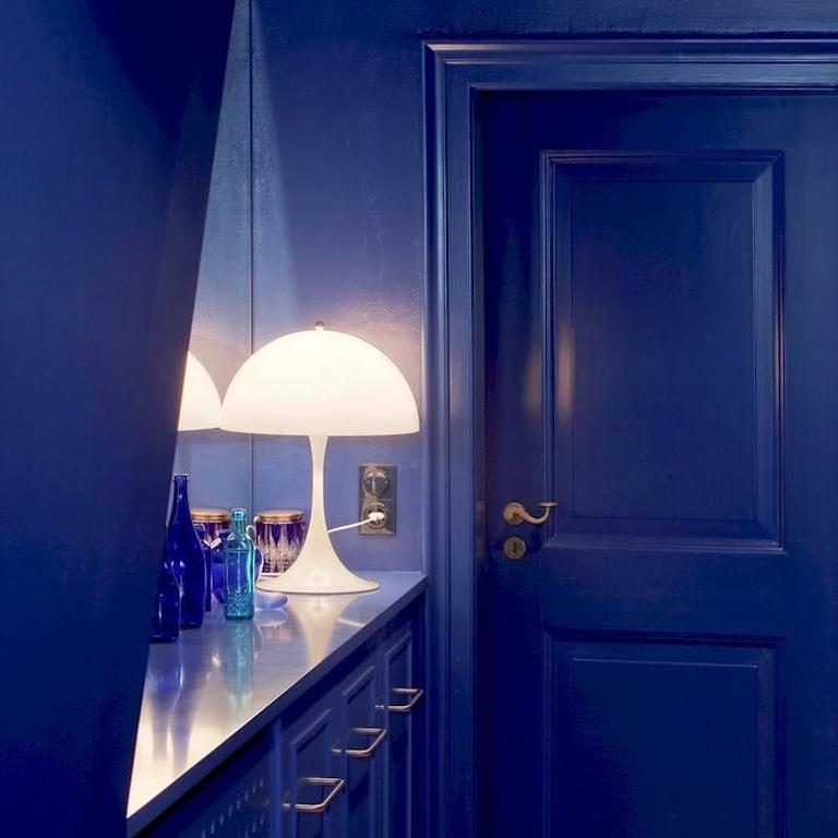 verner panton panthella table lamp for louis poulsen for sale at 1stdibs. Black Bedroom Furniture Sets. Home Design Ideas