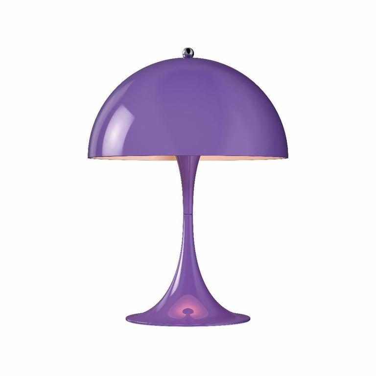 Spun Verner Panton Panthella Mini LED Table Lamp for Louis Poulsen For Sale