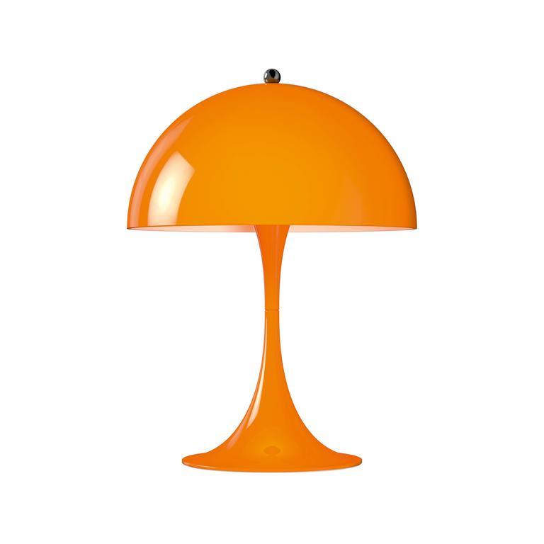 Steel Verner Panton Panthella Mini LED Table Lamp for Louis Poulsen For Sale