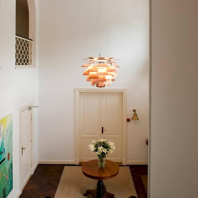 Monumental poul henningsen copper ph artichoke chandelier for louis extra large poul henningsen copper ph artichoke chandelier for louis poulsen this monumental pendant is aloadofball Choice Image