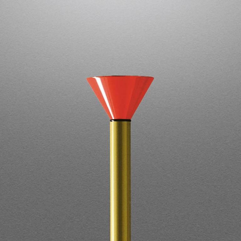 Mid-Century Modern 1980s Ettore Sottsass Callimaco Floor Lamp for Artemide For Sale