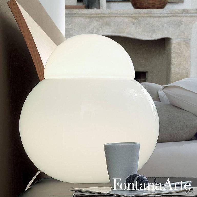 Large Sergio Asti 'Daruma' Table Lamp for Fontana Arte For Sale 3