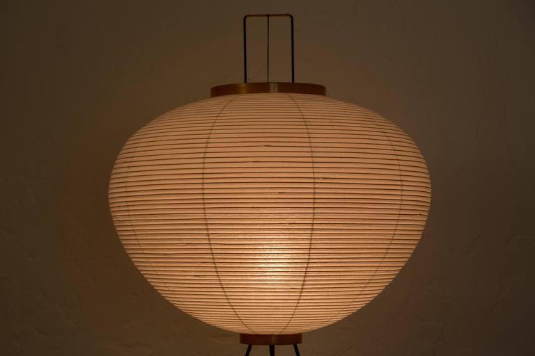Isamu Noguchi Akari 10a Floor Lamp At 1stdibs
