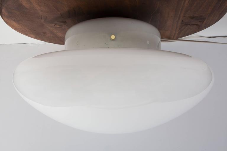 Italian Large Sergio Mazza 'Magnolia' Ceiling Lamp for Quattrifolio, circa 1971 For Sale