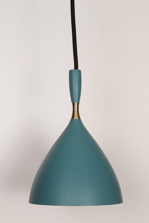 Scandinavian Modern Birger Dahl Pendants in the Manner of Stilnovo For Sale