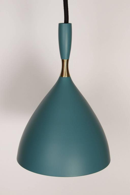 Birger Dahl Pendants in the Manner of Stilnovo In Excellent Condition For Sale In Glendale, CA