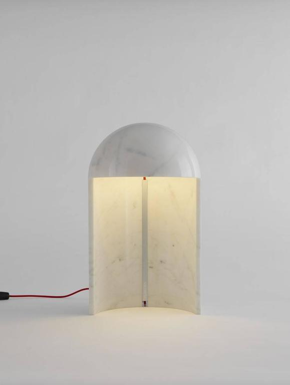 Carlo Colombo \'Milano 2015\' Marble Table Lamp for Fontana Arte at ...