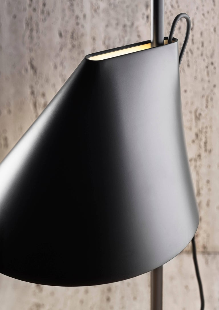 Scandinavian Modern GamFratesi Black 'YUH' Floor Lamp for Louis Poulsen For Sale