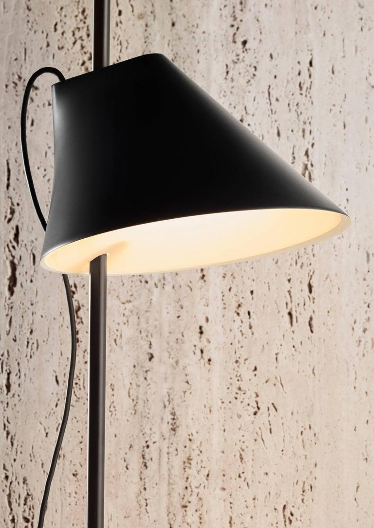 Danish GamFratesi Black 'YUH' Floor Lamp for Louis Poulsen For Sale