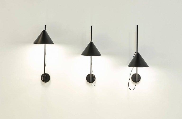 Painted GamFratesi Black 'YUH' Floor Lamp for Louis Poulsen For Sale