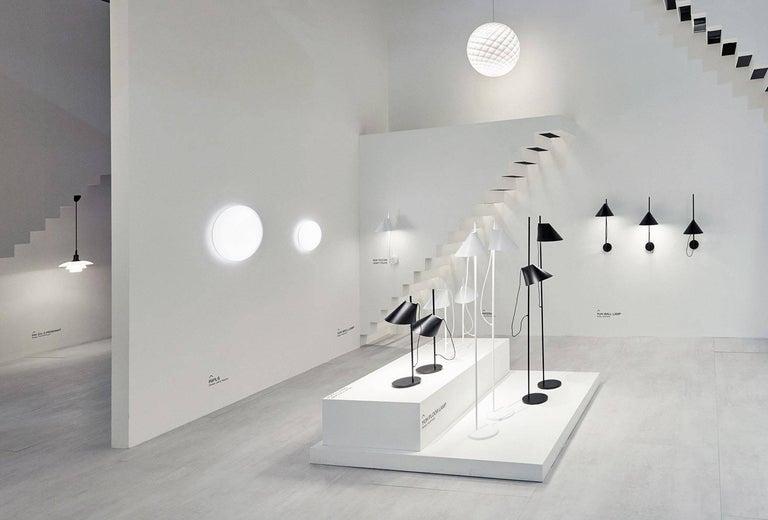 Aluminum GamFratesi Black 'YUH' Floor Lamp for Louis Poulsen For Sale