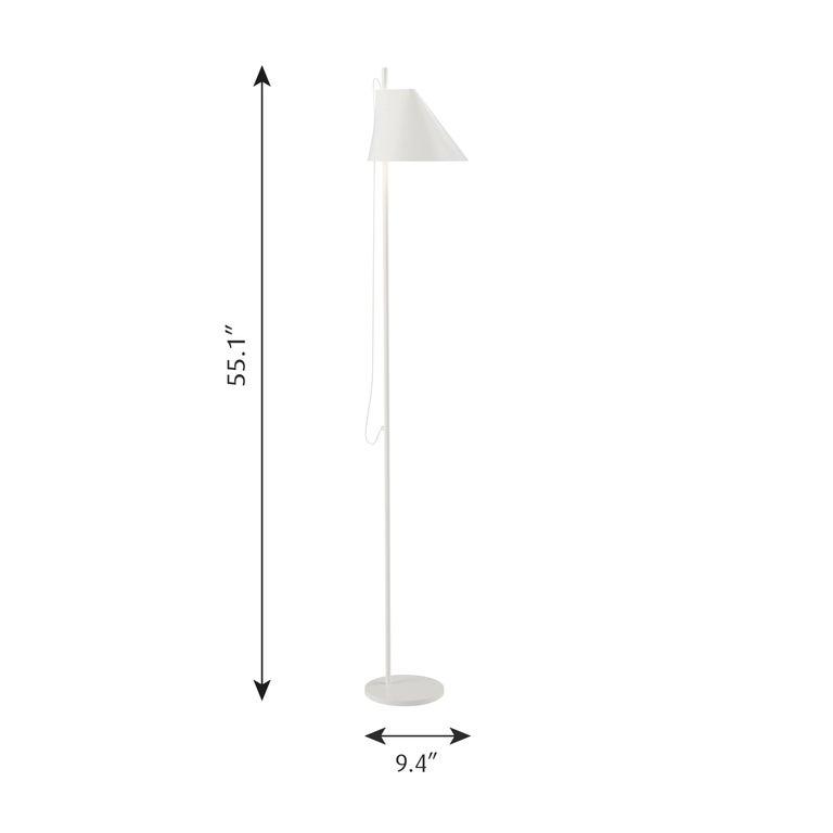 GamFratesi Black 'YUH' Floor Lamp for Louis Poulsen For Sale 2