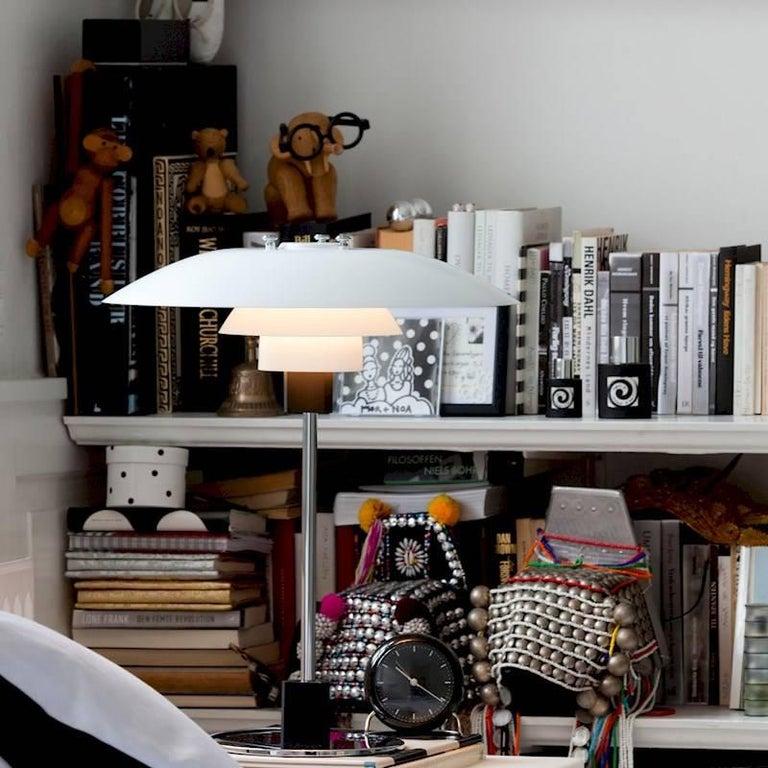 Scandinavian Modern Poul Henningsen PH 4/3 Table Lamp for Louis Poulsen For Sale