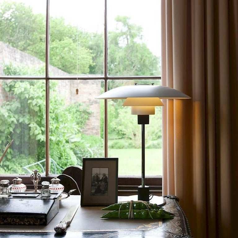 Danish Poul Henningsen PH 4/3 Table Lamp for Louis Poulsen For Sale