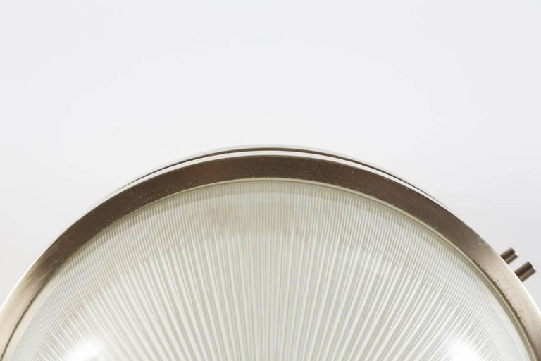 Pressed 1960s Sergio Mazza 'Sigma' Wall or Ceiling Lights for Artemide, 1960s For Sale